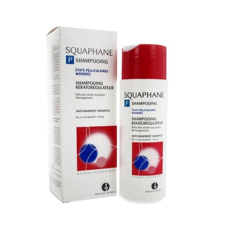 BIORGA SQUAPHANE P shampooing antipelliculaire keratoregulateur