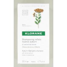 KLORANE EXTRAIT DE HENNE Shampooing Reflets Nuance Auburn