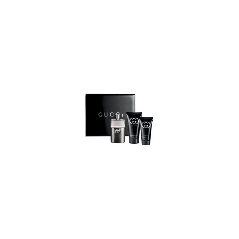 GUCCI GUILTY BLACK HOMME Coffret